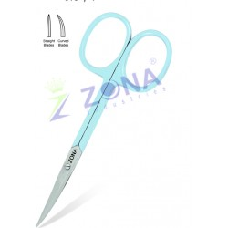 Stainless Steel Nail Cuticle Scissors Manicure Pedicure